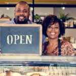 Bakery shop owners open for business